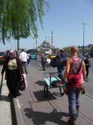 achat de la nouvelle cariole a istanbul
