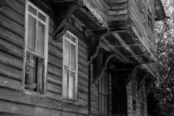maison traditionnelle d'un petit village montagnard non loin de la mer Noire
