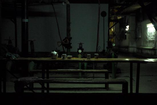 pause thé à l'usine